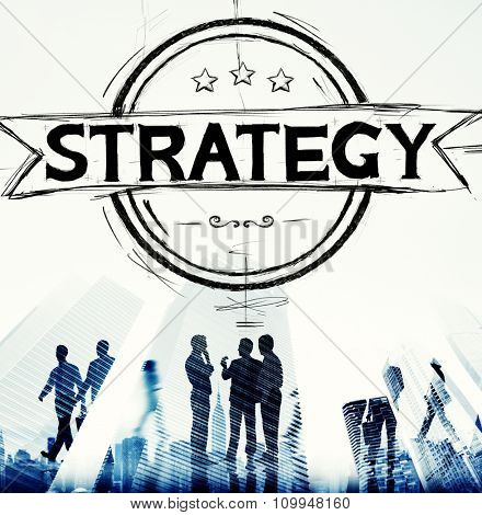 Strategy Planning Smart Solution Business Development Analysis Research Concept