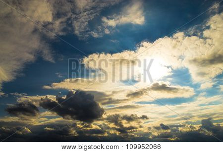 Cloudscape Divine Cloudy Outdoor
