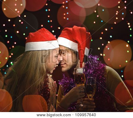 Christmas love couple fun