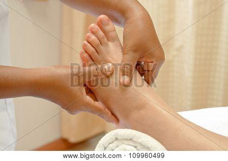 Reflexology Thai Foot Massage, Spa Foot Treatment