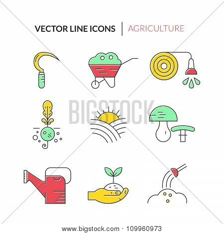 Garden And Plants Icons