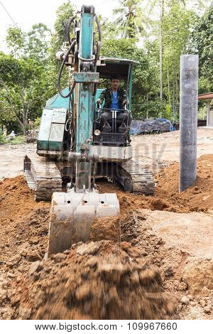 Excavator Bucket Digger Digging