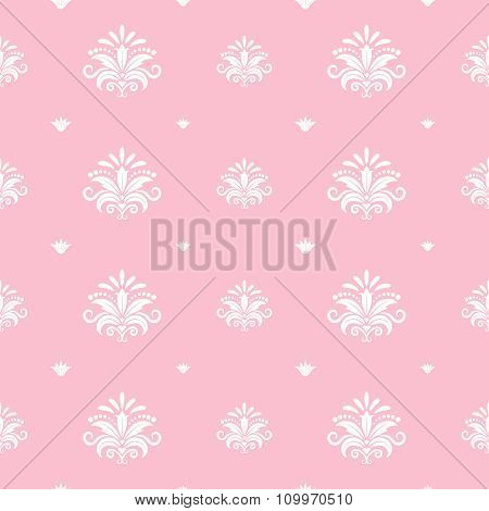 Floral baroque princess template
