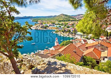 City Of Sibenik Coast View