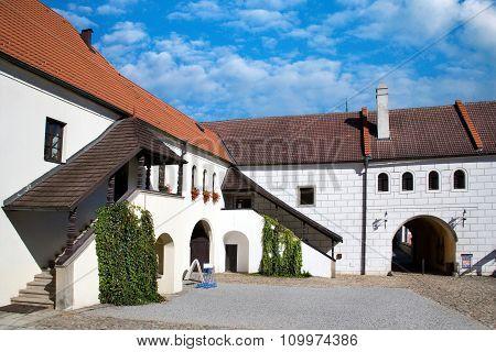 Castle, Jindrichuv Hradec Town, Czech Republic