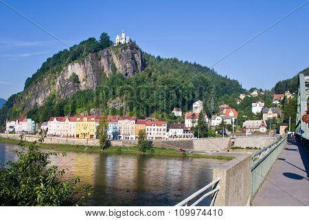 Shepherd´s Rock, Town Decin, Czech Republic