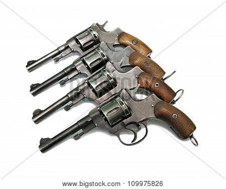 Four Old Revolver