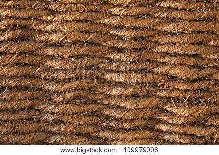 Basketwork Brown Background