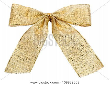 Gold Christmas Baubles isolated