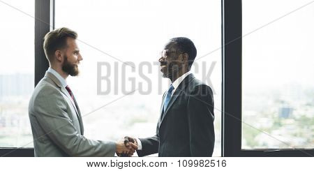 Handshake Business Deal Agreement Corporate Concept