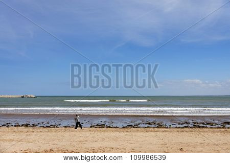 Coast of the Atlantic Ocean, El Jadida, Morocco, Africa