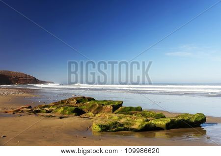 Legzira Beach, Morocco, Africa