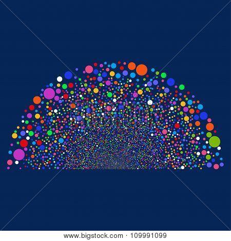 Random Bubble Dome