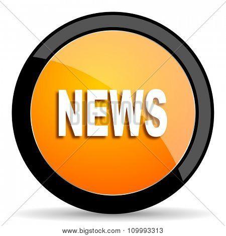 news orange icon