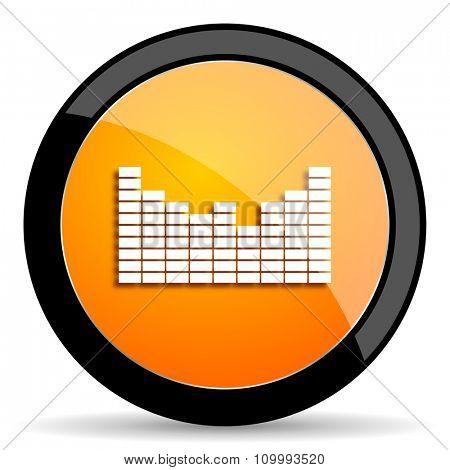 sound orange icon