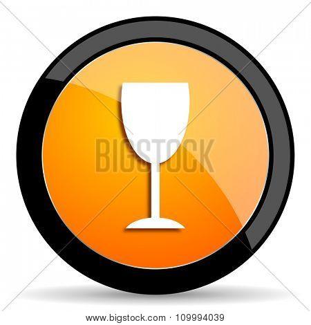 alcohol  orange icon