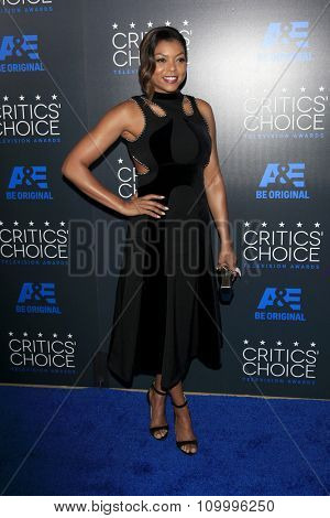 LOS ANGELES - MAY 31:  Taraji P Henson at the 5th Annual Critics' Choice Television Awards at the Beverly Hilton Hotel on May 31, 2014 in Beverly Hills, CA