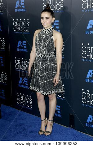LOS ANGELES - MAY 31:  Mae Whitman at the 5th Annual Critics' Choice Television Awards at the Beverly Hilton Hotel on May 31, 2014 in Beverly Hills, CA