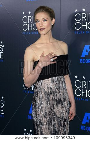 LOS ANGELES - MAY 31:  Caitlin Gerard at the 5th Annual Critics' Choice Television Awards at the Beverly Hilton Hotel on May 31, 2014 in Beverly Hills, CA