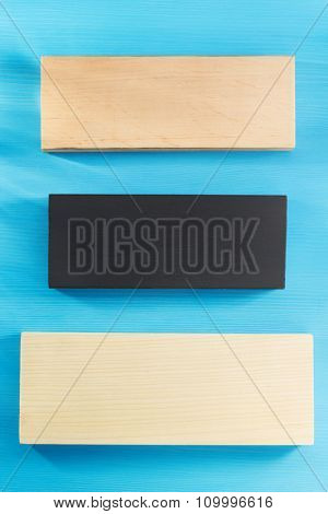 board on wooden background texture