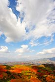 pic of loamy  - Field landscapes in Yunnan Province southwest of China - JPG