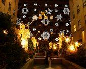 A Holiday Light Display At Rockefeller Center #3