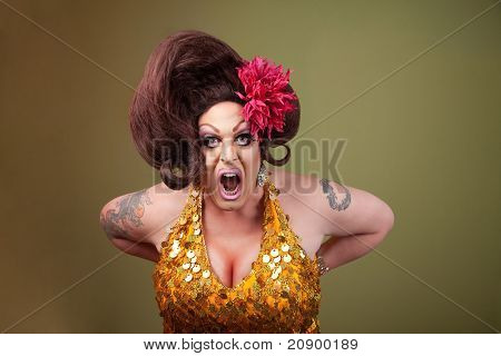 Drag Queen Screaming