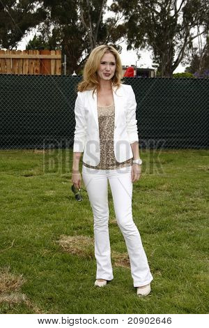 LOS ANGELES - JUN 12:  Ashley Jones arriving at the 22nd Annual 'Time for Heroes' Celebrity Picnic at Wadsworth Theater on June 12, 2011 in Westwood, CA
