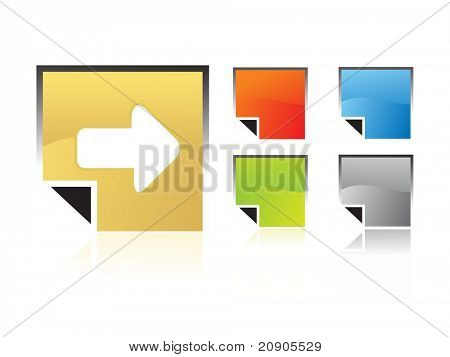 forward icon vector illustration