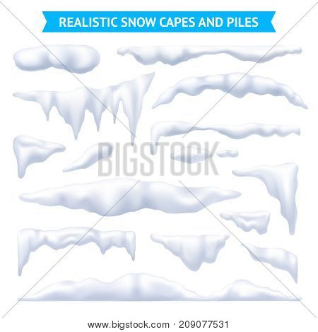 Snow white capes