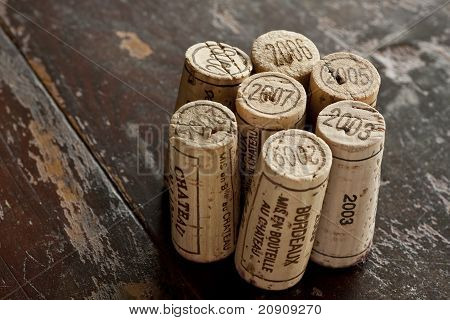 Bordeaux Red Wine Bottle Corks