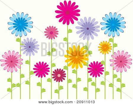 flower pattern background, wallpaper