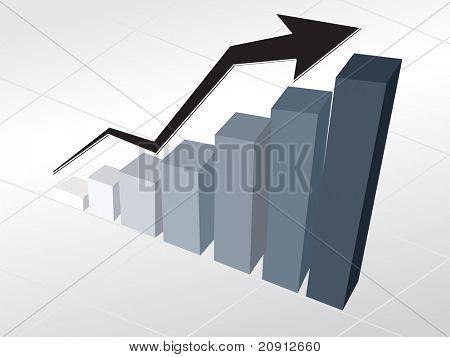 corporate financial graph wallpaper