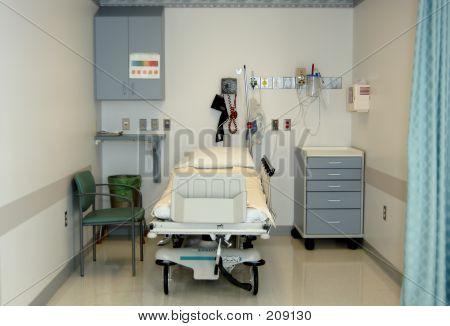 Bahía de preoperatorio de cirugía