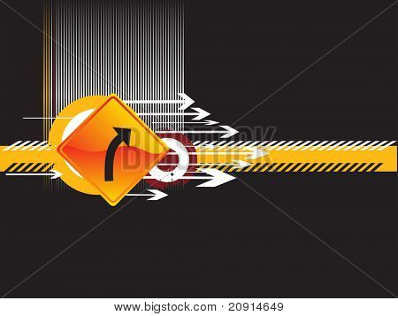 vector illustration direction of movement, design