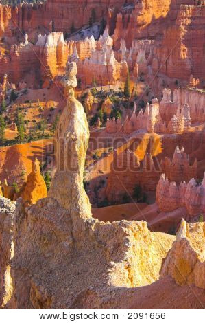 Red Rock Of Bryce
