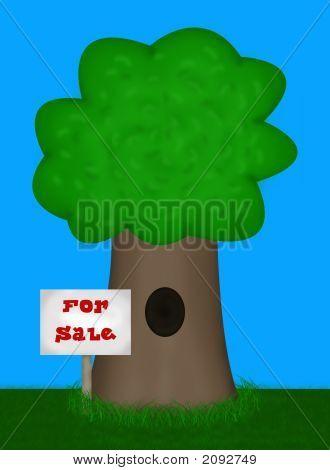 Home For Sale Illustration