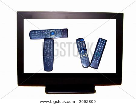 Hdtv With Remotes