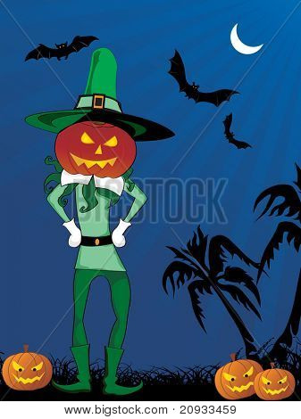 elegante de fundo para o halloween, ilustração vetorial