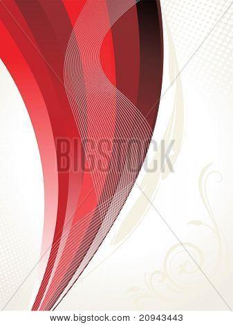 abstrakte Welle, Hintergrund Streifen Abbildung