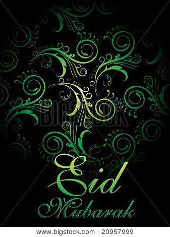 vector illustration of beautiful eid background