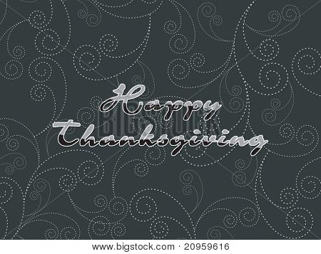 beautiful card for happy thanksgiving day