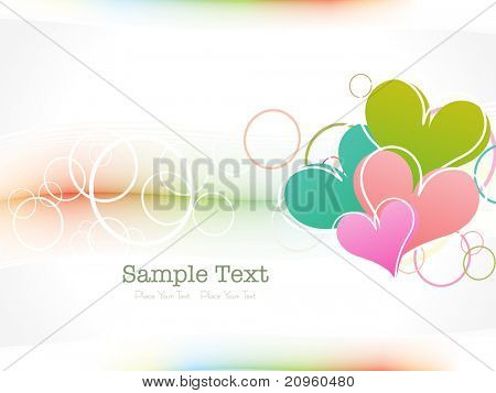 illustration of abstract element background