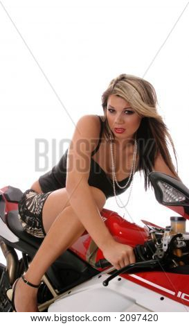 Beauty On Bike