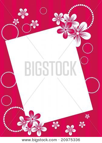 abstract beautiful greeting card for mother day celebration