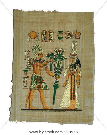 Papyrus Painting