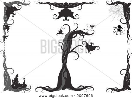 Halloween Vector Ornament