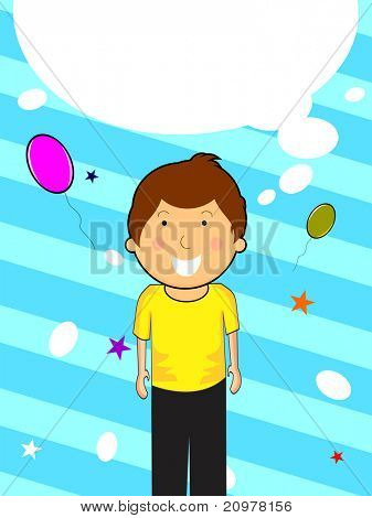 kiddish concept background for happy children's day