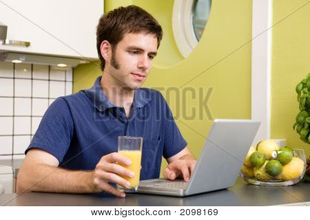 Using Computer With Juice