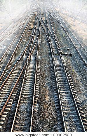 Railroad & Fog